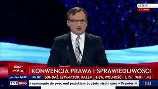 Minister Ziobro: Wiarygodność to w polityce rzecz bezcenna. Nasz rząd przywraca Polakom godność.