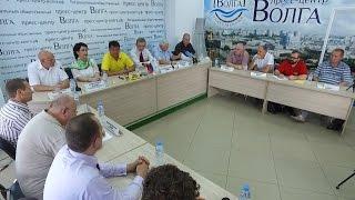 Пресс-конференция партий.