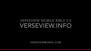 VerseVIEW Mobile Bible YouTube video