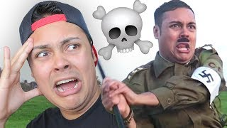 REACTING TO HITLER IN PUBLIC !!! • (Reacting to OLD VIDEOS)