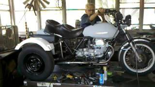 10. Moto guzzi trike
