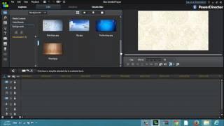 شرح القيام بتدوير الفيديو أو الصورة 360 درجة CyberLink PowerDirector R12