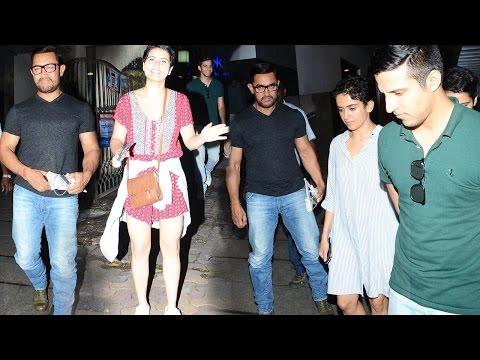 Aamir Khan Parties With Dangal Team
