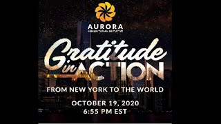 AURORA Humanitarian Initiative, Gratitude in Action