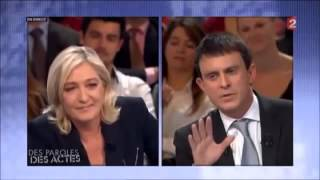 Video Manuel Valls RIDICULISE par Marine Le Pen gros clash !!! MP3, 3GP, MP4, WEBM, AVI, FLV Agustus 2017