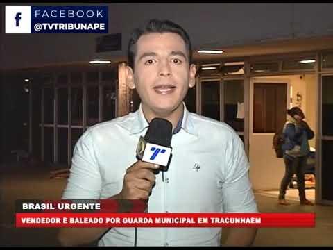 [BRASIL URGENTE PE] Vendedor é baleado por guarda municipal em Tracunhaém