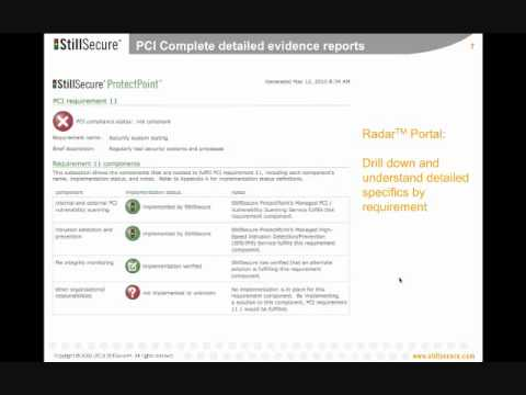 how to prove pci compliance
