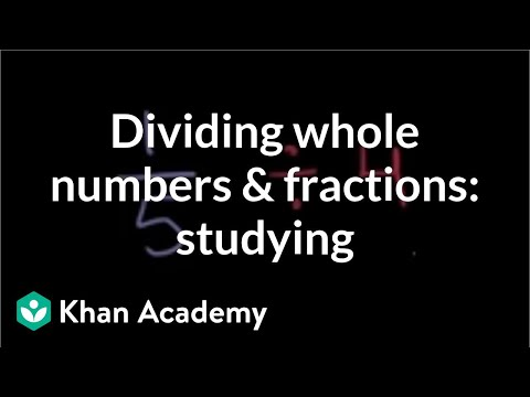 Dividing fractions by whole numbers studying video khan academy ccuart Gallery