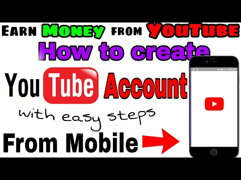 How to create youtube account from mobile / create youtube adsense account / youtube channel urdu /