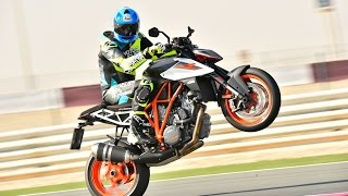 9. 2017 KTM 1290 Super Duke R First Ride Review in Qatar! | On Two Wheels