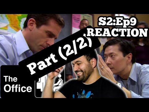 The Office REACTION Season 2 Episode 9 Email Surveillance *RE-UPLOAD* (Part 2/2)