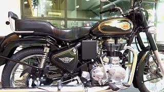 6. #Bikes@Dinos: Royal Enfield Bullet 500 Test Ride Review, Walkaround (Green, Black Colour)