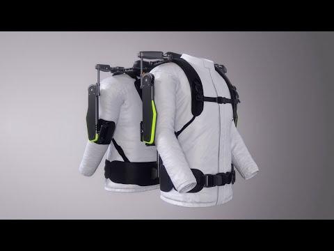 Vex, exoskeleton, Hyundai, overhead work