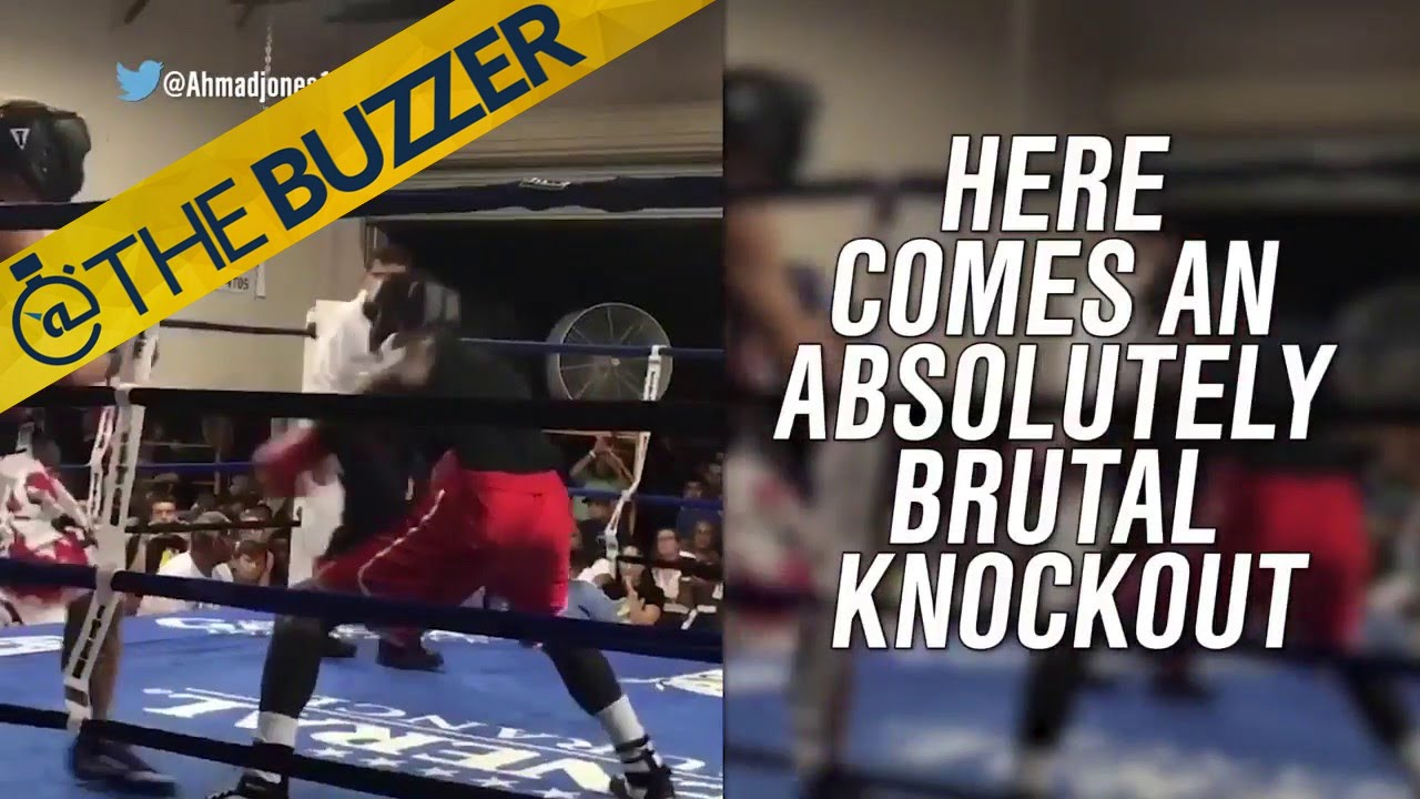This brutal knockout in a boxing match is a little hard to watch | @TheBuzzer | FOX SPORTS