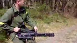 Asahi M-134A Vulcan Airsoft Minigun