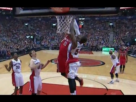 Clint Capela's POSTER slam on Patrick Patterson!