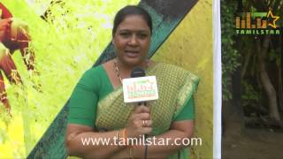 Sindhu at  Kamar Kattu Movie Team Interview