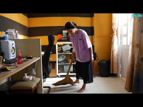 Dọn Dẹp Phòng Làm Việc Cùng Vie Girl