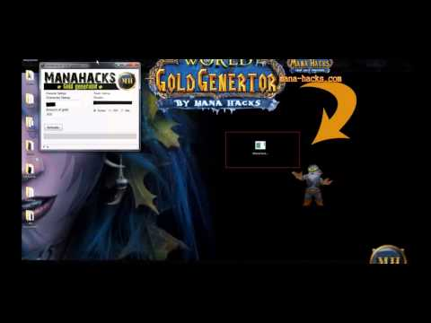 2013 WoW Gold Generator(Manahacks) Cracked Edition (Also USE ON PRIVATE SERVERS!)