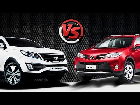 2hp: KIA Sportage VS Toyota RAV4