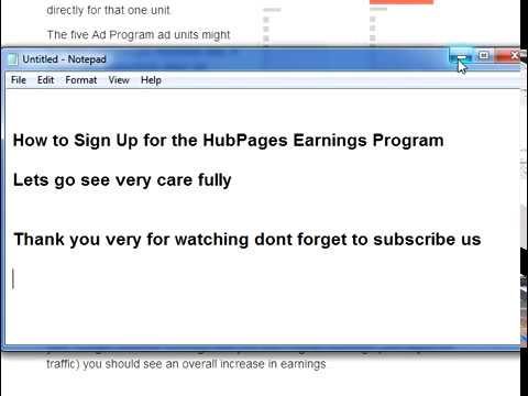 Make Money Blogging With HubPages