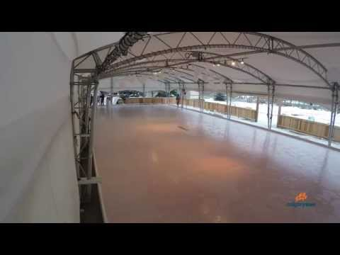 How to build a skating rink in less than two minutes!