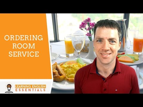 Video Order room service using this easy English conversation. download in MP3, 3GP, MP4, WEBM, AVI, FLV January 2017