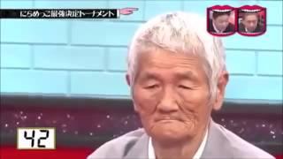 Японское шоу - кто кого рассмешит
