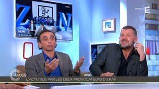 Video Zemmour et Naulleau critiquent le Grand Journal - C à vous - 19/03/2014 MP3, 3GP, MP4, WEBM, AVI, FLV Oktober 2017