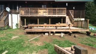 Deck Rebuild - Time Lapse