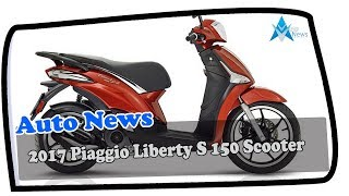 9. MUST WATCH !!! 2017 Piaggio Liberty S 150 Scooter Price & Spec