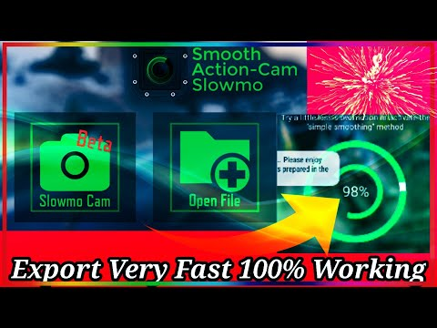How to fast export video on smooth action cam