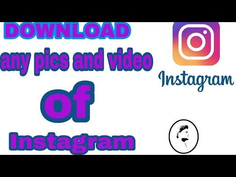 Download any pics of instagram without copying post url