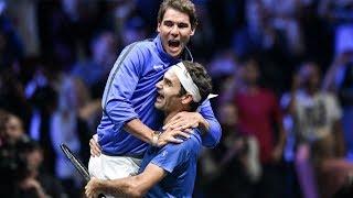 Roger Federer & Rafael Nadal - Pure Friendship - Beautiful & Funny Moments - 2017