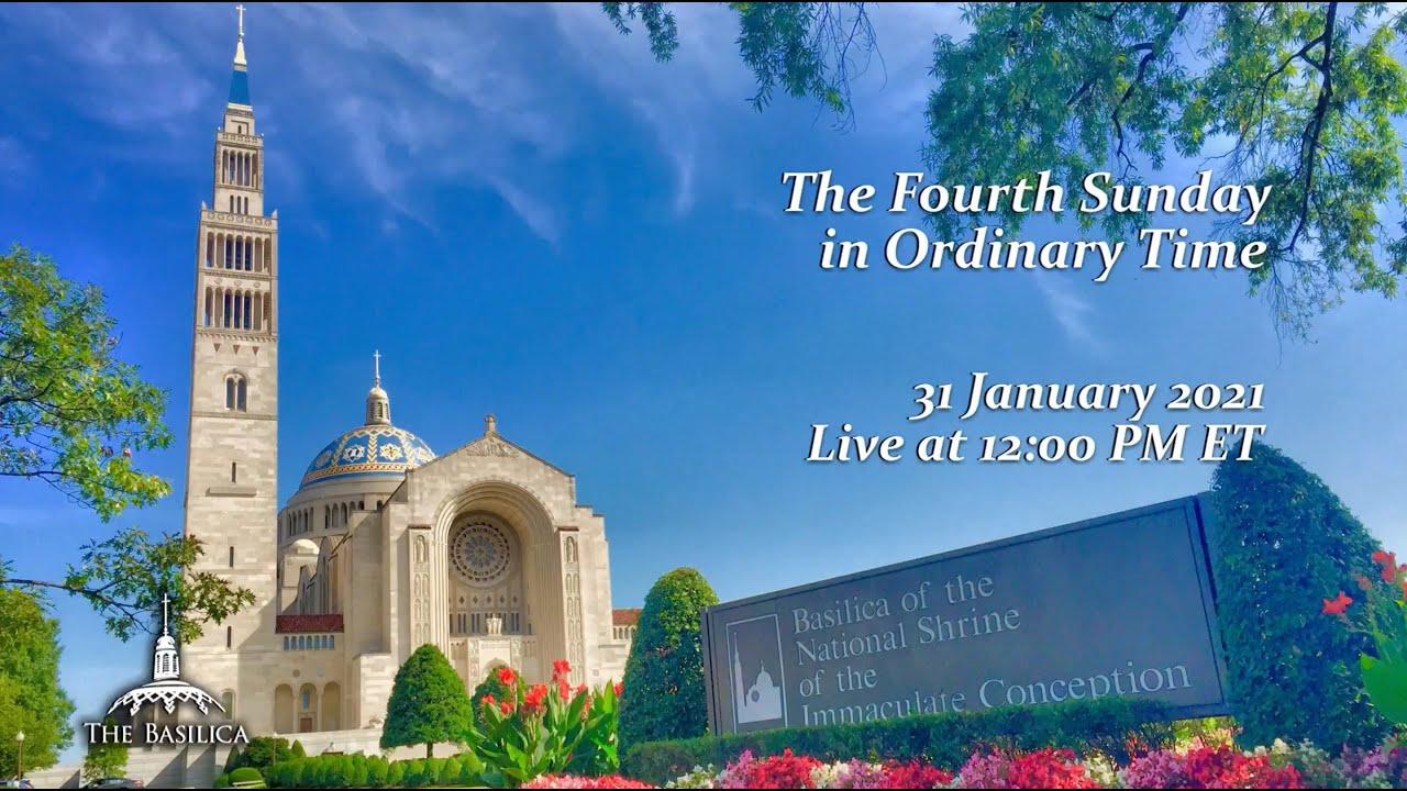 Catholic Sunday Mass 31 January 2021 By Basilica of the National Shrine