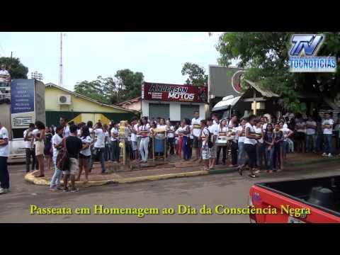 Passeata em Tocantinópolis em Homenagem ao Dia da Consciência Negra HD
