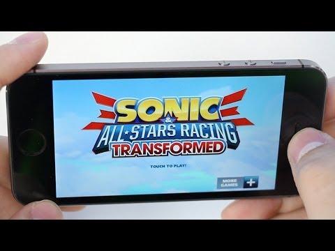 sonic sega all stars racing ios characters