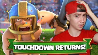 Video TOUCHDOWN IS BACK! Magical Chest + GOLD Challenge! | Clash Royale MP3, 3GP, MP4, WEBM, AVI, FLV November 2017