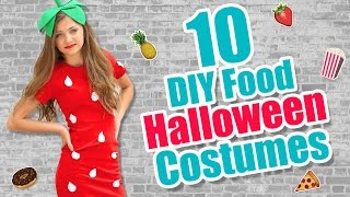 Download Lagu 10 Food-Inspired DIY Halloween Costume Ideas | Kamri Noel Mp3