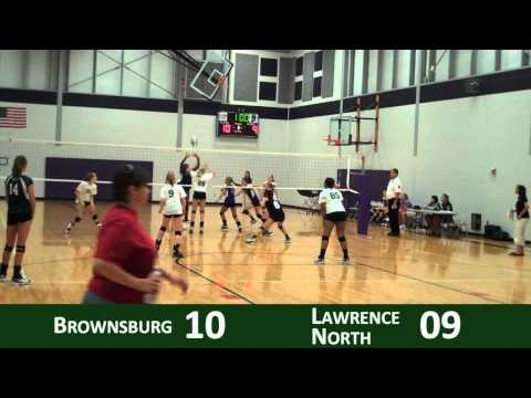 2010 Freshman Volleyball - LN at Brownsburg - Set 1.mp4