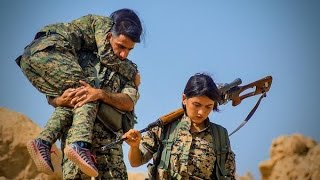 A fierce war is raging in Syria. A unit of fearless female fighters are battling the world's most brutal enemy, ISIS. And they're winning. Deep within Kurdish Syria, ...