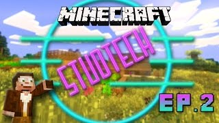 Minecraft:  Living Dangerously In Abandoned Mine Shafts  (Stud Tech Reloaded Ep.2)