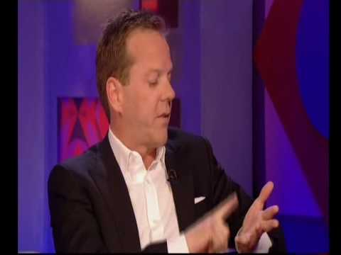 Kiefer Sutherland on Jonathan Ross video interview