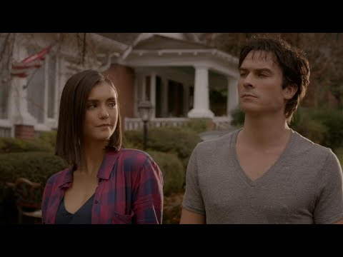 The Vampire Diaries 8x16 Finale: Damon and Elena Human Together HD