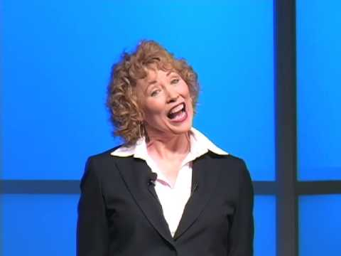 Motivational Speaker Karyn Buxman: FUNNY stress management techniques