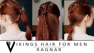 Vikings Hair Tutorial for Men - Ragnar Lothbrok