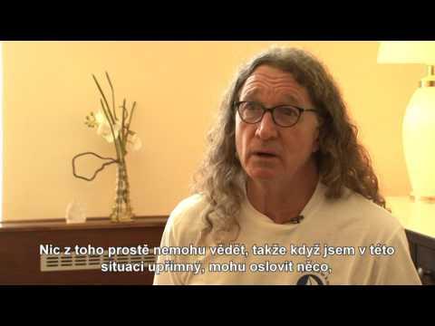 Rozhovor s Charlesem Ridleym v Praze