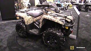 8. 2016 Can Am Outlander L 570 Mossy Oak Hunting Edition ATV - Walkaround - 2015 AIMEXPO Orlando