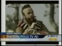 Mr. T Snickers ad - Sports Anchor Cracks Up