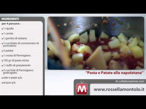 pasta e patate napoletane - ricetta